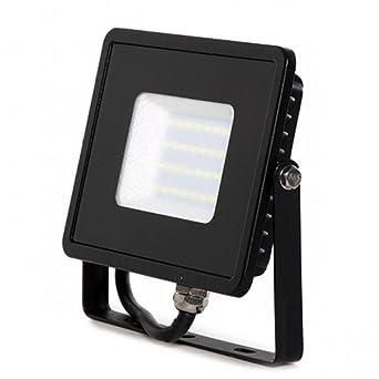 COUSON Foco LED Proyector 10W Para Exterior Graduable Luz Blanca ...