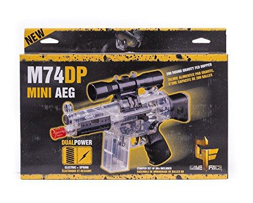 Crosman Pulse M74DP Mini AEG Airsoft Pistol (Clear) (Clear Airsoft Bb Gun)