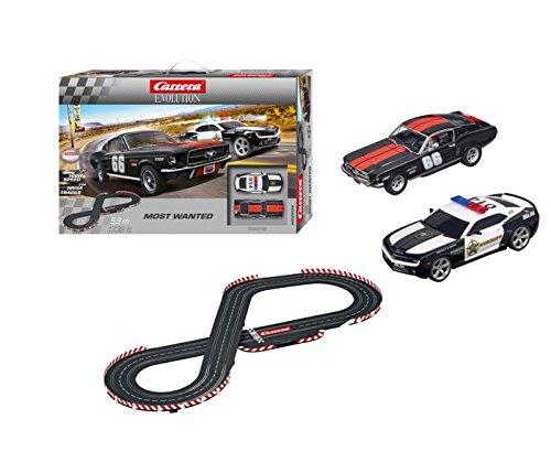 Carrera 25528 Evolution Most Wanted Slot Car Set