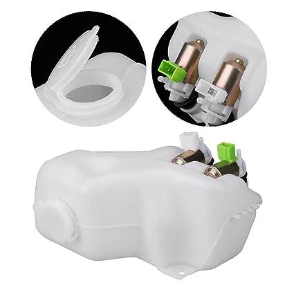 Amazon com: KIMISS Windshield Wiper Washer Bottle 2 Hole