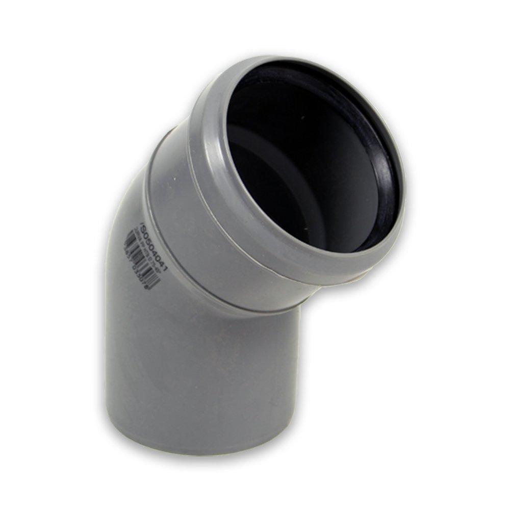 DN 110 x 250 mm HT-Abflussrohr mit Dichtring
