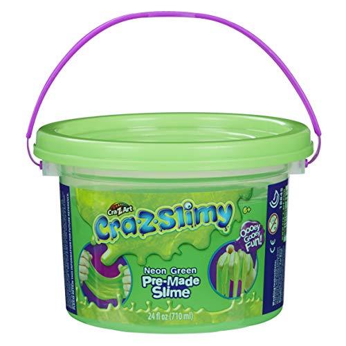Crazy Green (Cra-Z-Slimy Neon Green Slimy Goop, Large 24 oz tub!)