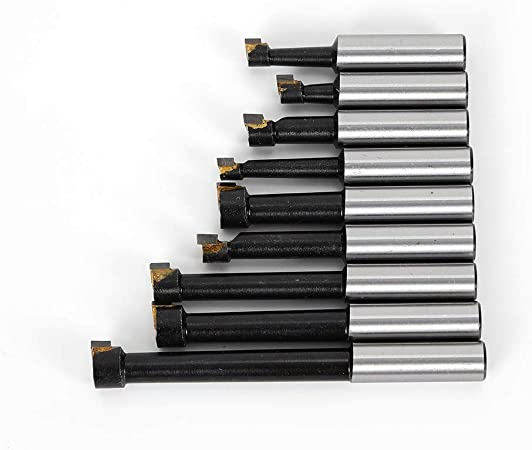 Viking Drill and Tool 06103 Type 248 Black Oxide Jobber Drill 118 Degree Point HSS Bit Set 29 Piece
