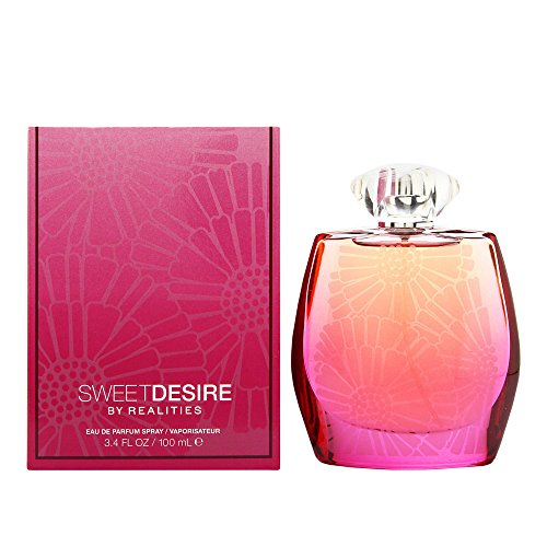 Realities Sweet Desire by Liz Claiborne For Women. Eau De Parfum Spray 3.4-Ounces -