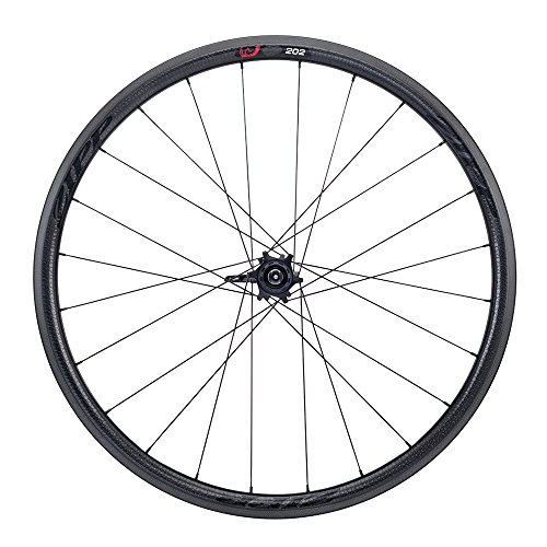 Zipp 202 Firecrest Carbon Clincher Road Wheel Black, Rear, SRAM/Shimano (Rear Clincher Wheel)