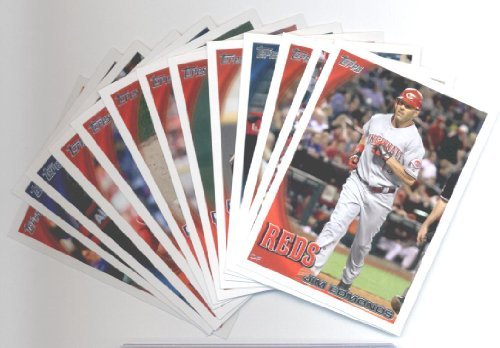 2010 Topps Baseball Cards Cincinnati Reds Team Set Update (Series 3) -13 Cards including Brandon Phillips, Joey Votto, Scott Rolen, Jordan Smith Rookie Card, Sam LeCure Rookie Card, Travis Wood Rookie Card, Chris Heisey Rookie Card & more!