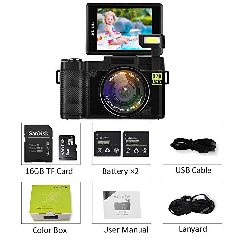 alpha-grp.co.jp Digital Camera with WiFi 24MP 2.7K HD Video ...