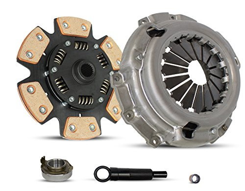 Mercury Tracer Clutch Kit - Clutch Kit Works With Ford Escape Mazda Scort Tribute Mercury Tracer Trio Gs Ls Se Zx2 Aust Deportivo Equi 1997-2004 2.0L L4 GAS DOHC Naturally Aspirated (6-Puck Clutch Disc Stage 2)
