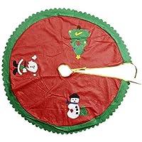 قطعة قماشية غير منسوجة مزخرفة توضع كزينة لشجرة الكريسماس - Bt09