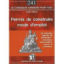 PERMIS DE CONDUIRE MODE D'EMPLOI
