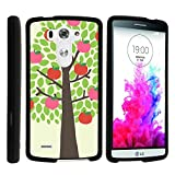 LG G3 Phone Case, Perfect Fit Cell Phone Case Hard Cover with Cute Design Patterns for LG G3 (D850, D851, D855, VS985, LS990, US990) by MINITURTLE - Apple Tree