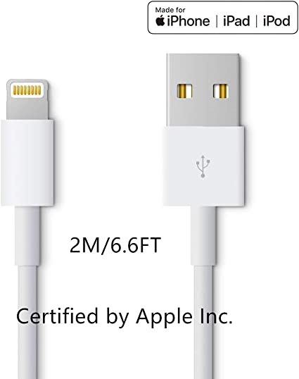 Amazon.com: Cable de carga y cargador para Apple iPhone/iPad ...