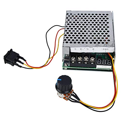 Motor Speed Controller Digital Scale CW/CCW Reversible Switch for Controling Motor Speed 40A 10V-55V