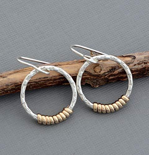 - Small sterling silver dangle 3/4