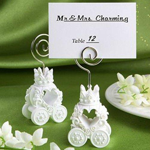 Royal Coach Design Place Card Holder Favors, (Cinderella Theme Bridal Shower)