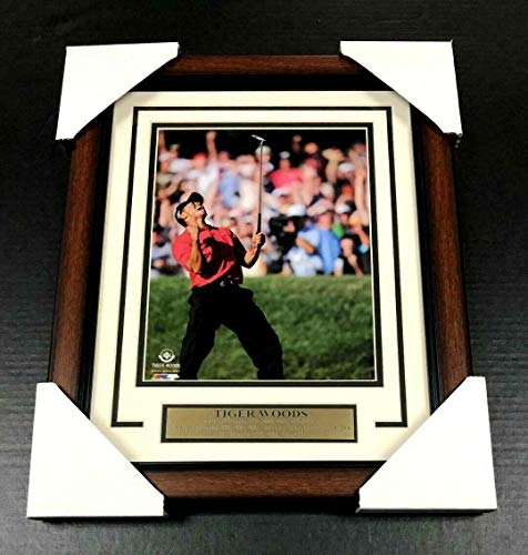 - TIGER WOODS UDA UN-SIGNED FRAMED 8x10 PHOTO MASTERS US OPEN CHAMPION PGA