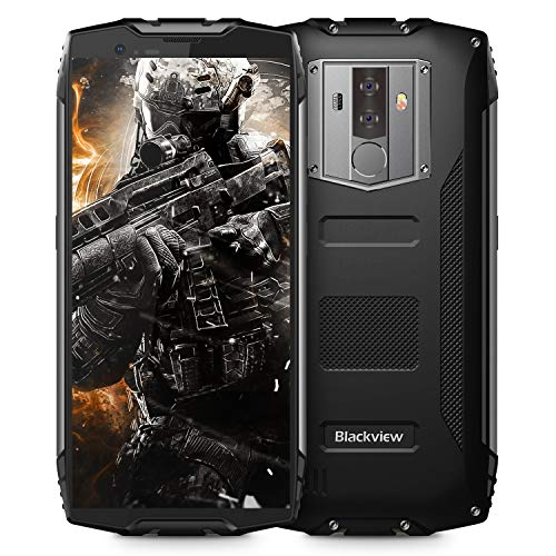 Rugged Cell Phones Unlocked, Blackview BV6800 pro 4G LTE IP68 Waterproof Smartphone 6580mAh Battery 4GB+64GB [MIL-STD-810G] Octa Core 8MP+16MP Dual Rear Camera 5.7