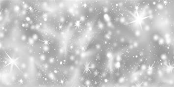 AOFOTO 10x8ft Glitter Hanging Stars Blur Snowflakes Background for Photography Happy New Year Winter Wonderland Theme Party Backdrop Christmas Eve Decorations Wallpaper Photo Studio Props Vinyl