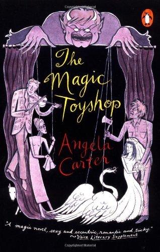 The Magic Toyshop by Carter Angela (1996-08-01) Paperback