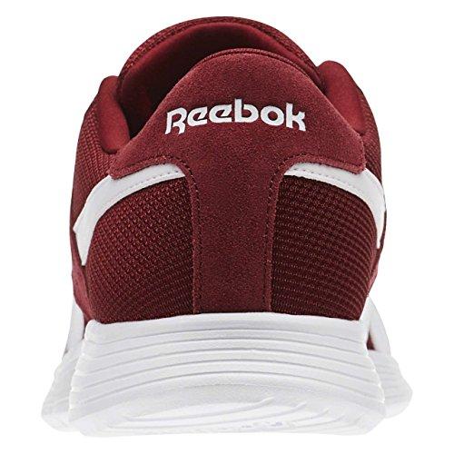 Reebok Royal Ec Ride, Zapatillas de Deporte Para Hombre Rojo (Collegiate Burgundy / White)