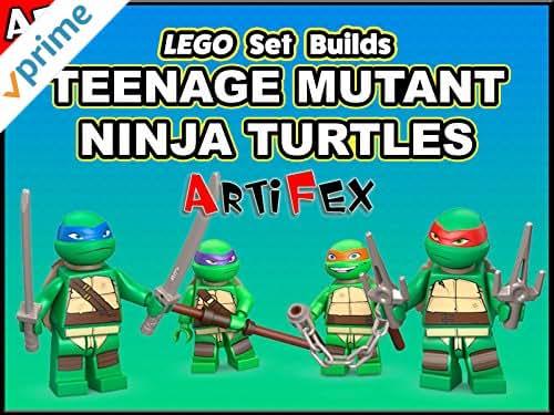 Clip: Lego Set Builds Teenage Mutant Ninja Turtles - Artifex