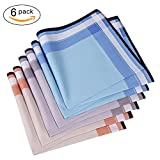 Men's Handkerchief,100% Cotton Classic Hankies (color3)