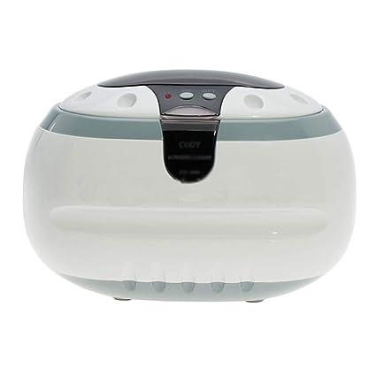 ZHUANGGQSHOP Máquina de Limpieza por ultrasonidos Joyería Gafas Braces Denture Jewelry Home Limpieza por ultrasonidos,