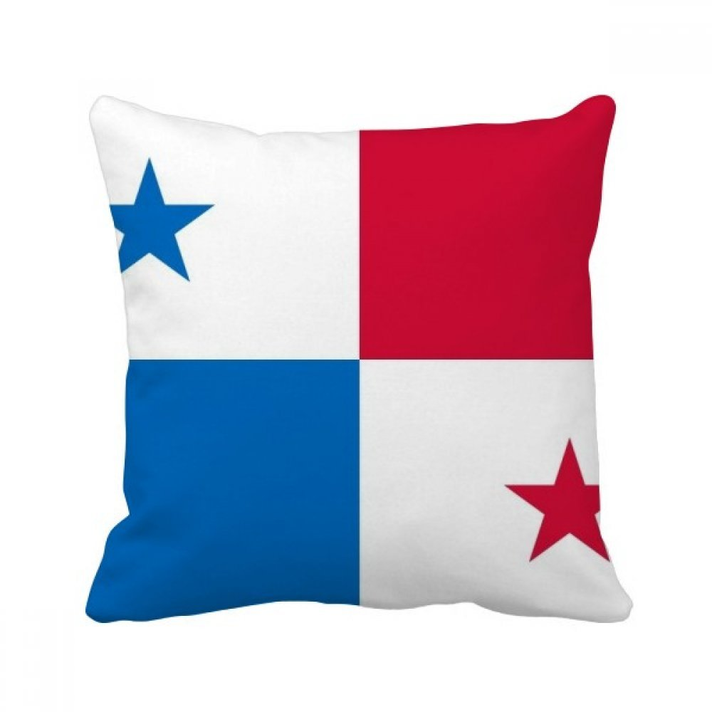 DIYthinker Panama National Flag North America Country Square Throw Pillow Insert Cushion Cover Home Sofa Decor Gift