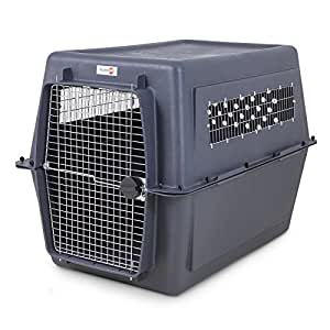 Petmate 21647 Pet Porter Fashion Dog Crate, Giant, Dark Gray