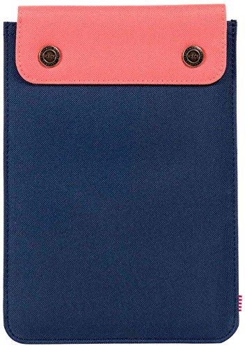 Herschel Supply Co. Women's Spokane Mini Sleeve, Navy/Flamingo, One - Shop Man Spokane