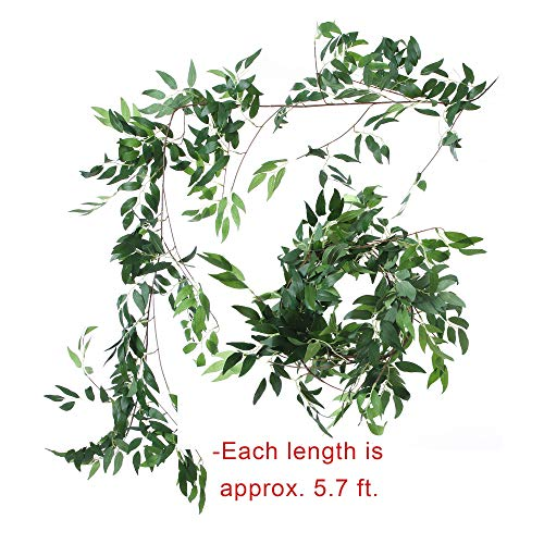 Felice-Arts-2pcs-112-Feet-Artificial-Willow-Leaves-Vines-Twigs-Fake-Silk-Greenery-Garland-for-Indoor-Outdoor-Wedding-Decor-Jungle-Party