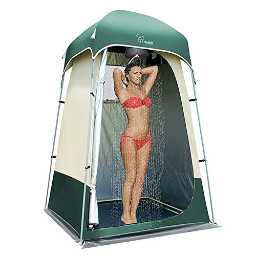 🥇 Vidalido Outdoor Shower Tent Changing Room Privacy Portable Camping Shelters