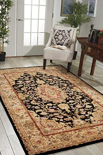 Nourison Nourison 2000 2028 Black Rectangle Area Rug
