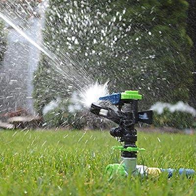 Sistema de riego de jardín, riego automático por aspersión de agua de bricolaje.: Amazon.es: Hogar