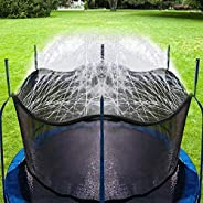 Bobor Trampoline Water Sprinkler for Kids, Outdoor Trampoline Spary Waterpark Fun Summer Water Toys…