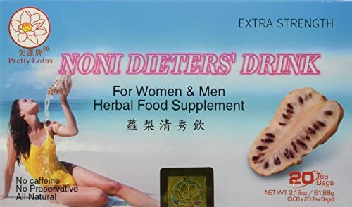 Noni Dieters Drink-extra strength- 20 Tea bags