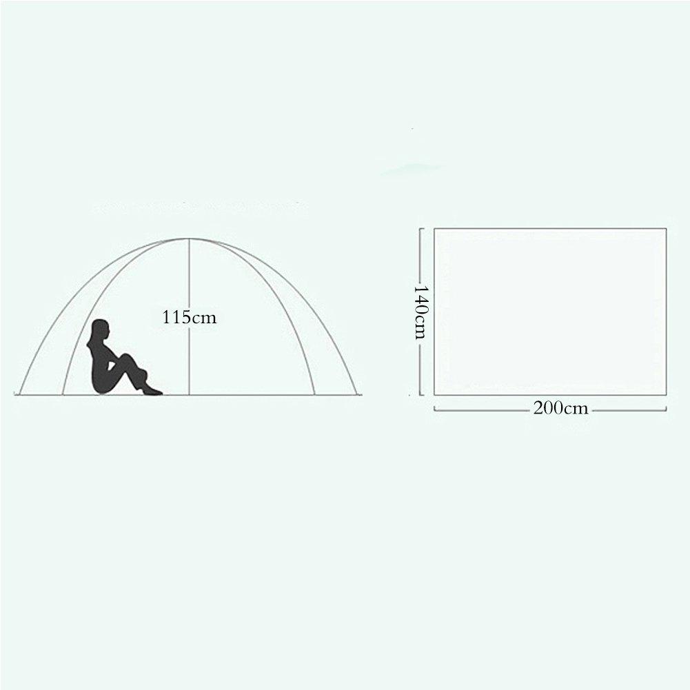 WUPO Zelt - - - Outdoor-Automatik Gepolstert Regendicht, Strandzelt Sonnenblende, Geeignet Für Camping Picknick Angeln Urlaub Wandern 607165