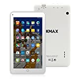 "ECVILLA KMAX - Tablet de 7"" (19,0 cm) (Quad-Core, HD,16 GB de memoria interna, Android 6.0 Lollipop,WIFI) blanco"