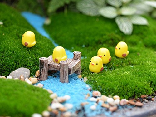 BeautyMood 10pcs Miniature Fairy Garden Herd