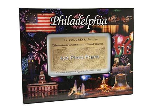 "Philadelphia Fireworks 4"" x 6"" Picture Frame"
