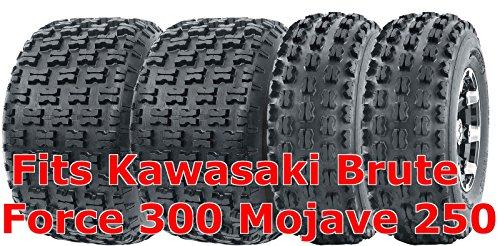 (22x7-10 & 22x10-10 Full Set Kawasaki Brute Force 300 Mojave 250 Sport ATV Tires)