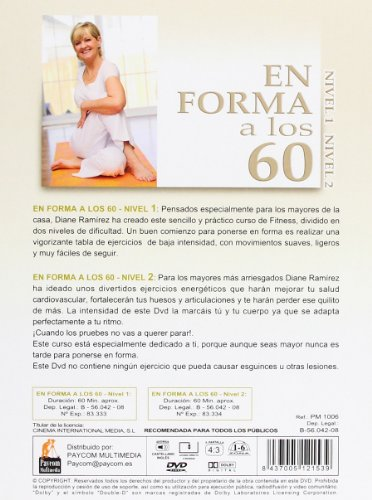 Amazon.com: En Forma A Los 60 (Import Movie) (European ...