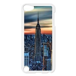 Jumphigh New York City Daybreak Ipod Touch 5 Cases, [White]