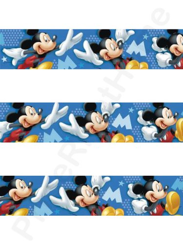 Original Disney Mickey Mouse Borte Bordüre L 5 M x B 10,6 cm ...