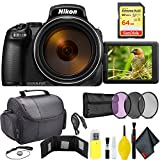 Nikon COOLPIX P1000 Digital Camera + 64GB Sandisk Extreme Memory Card Travel Kit International Model Review