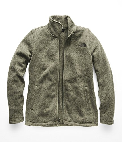 The North Face Womens Crescent Full Zip - Four Leaf Clover Heather - M