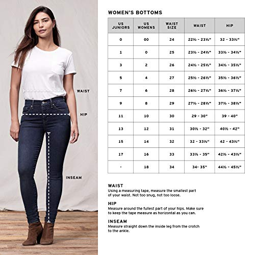 New Femme Jean Jeans Super Levi's Skinny High Technique Mile 0wCqdBP