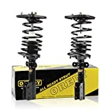 OREDY Rear Pair Complete Quick Struts Shock Coil Spring Assembly Kit 15311 Fits for 2003 2004 2005 2006 2007 2008 2009 Chevrolet Impala 2005 2006 2007 2008 Pontiac Grand Prix & Buick Allure LaCrosse