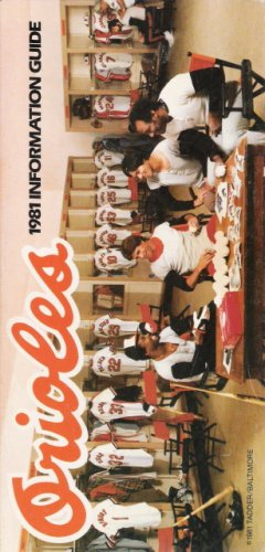 - Orioles 1981 Information Guide