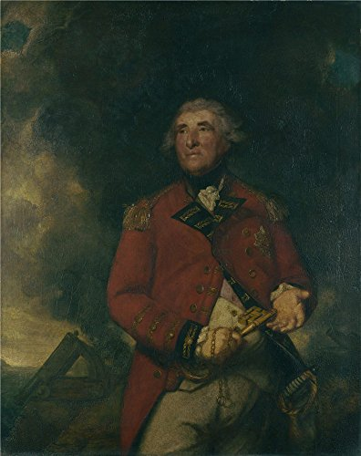 Master Blend 3 Torpedo (Oil Painting 'Sir Joshua Reynolds Lord Heathfield Of Gibraltar' 24 x 30 inch / 61 x 77 cm , on High Definition HD canvas prints is for Gifts And Hallway, Kitchen And Living Room Decoration)